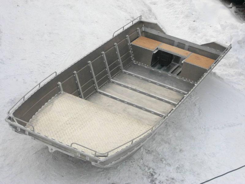 Алюминиевая лодка своими руками видео фото 686